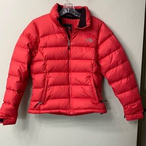 The North Face pink 700 down filled coat Med